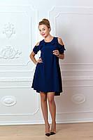 Платье  арт. 785 синее, фото 1