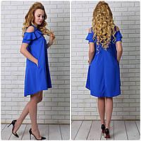 Сукня арт. 785 яскравий синій, фото 1