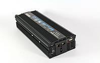 Преобразователь инвертор 12в-220в 1200W инвертор 12-220