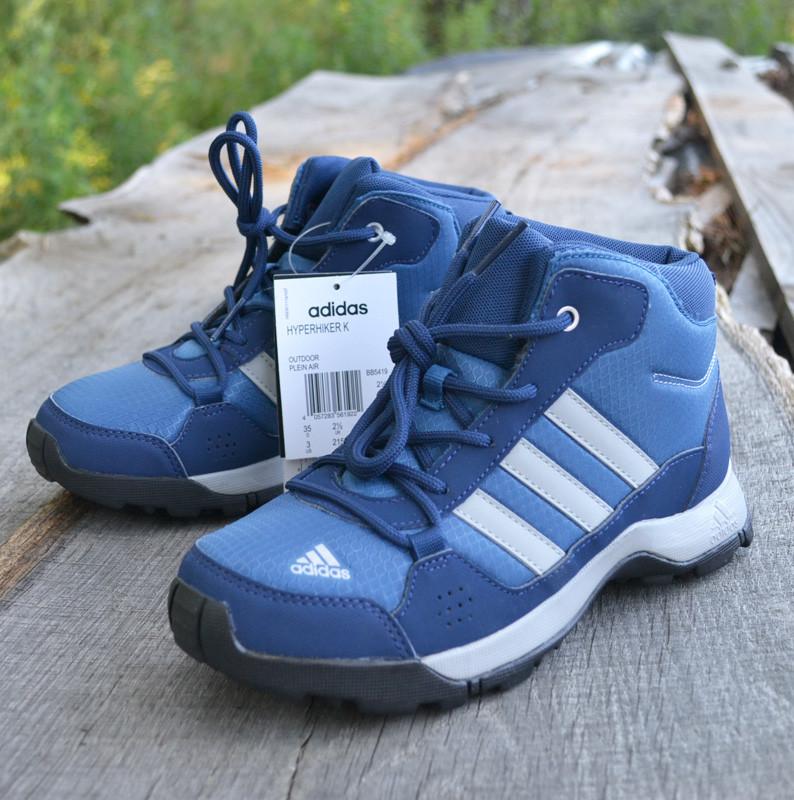 c46c00ea0 Высокие ботинки Adidas (Адидас) hyperhiker k, р 35. Интернет-магазин  подростковой