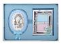 Серебряная рамочка и икона Мария с младенцем