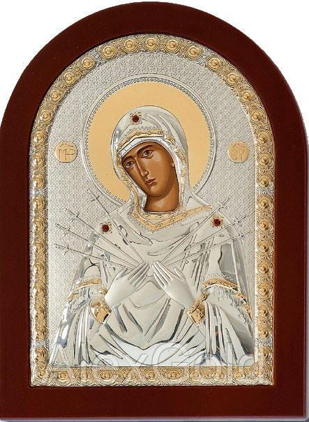 Икона Богородица Семистрельная