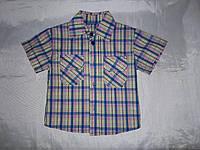 Сорочка на хлопчика дитяча картата