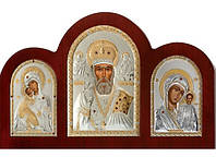 Складень триптих со Святым Николаем