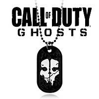 Кулон жетон Сall of Duty Ghosts