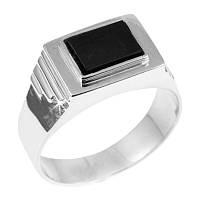 Мужское кольцо из серебра