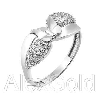 Серебряное кольцо Бабочка