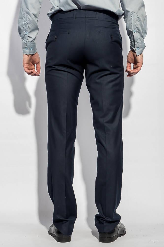 Брюки классические мужские стильные 81F005 (Темно-синий)