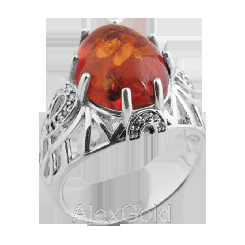 Серебряный перстень женский