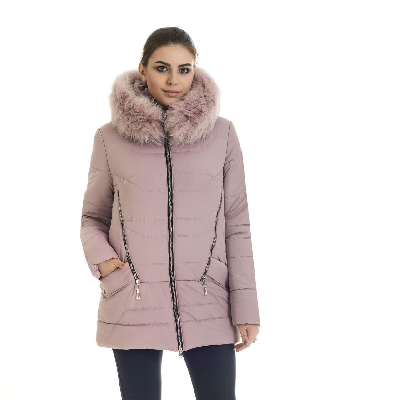 Молодёжная курточка с мехом