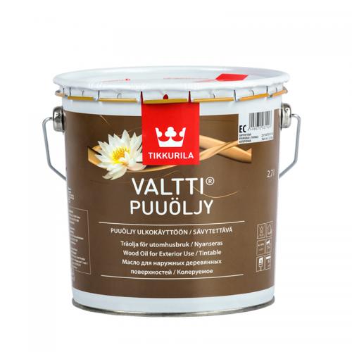 Олія для дерева Tikkurila Valtti Puuoljy 2.7л
