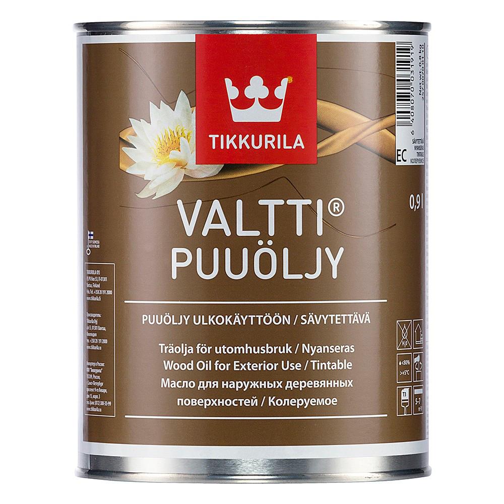 Олія для дерева Tikkurila Valtti Puuoljy 0.9л
