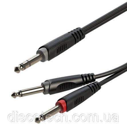 Готовый кабель Roxtone RAYC100L1, 2х1x0.14 кв. мм, вн. диаметр 4x8 мм, 1 м