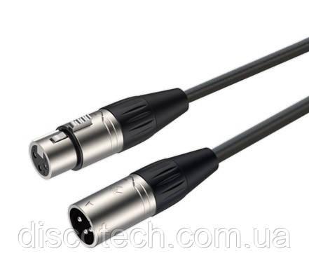 Готовый микрофонный кабель Roxtone SMXX200L5, 2x0.22 кв.мм, вн.диаметр 6 мм, 5 м