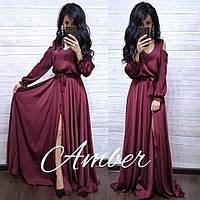 Платье женское в пол Армани
