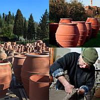 Терракотовые емкости uovo для сбраживания и хранения вина