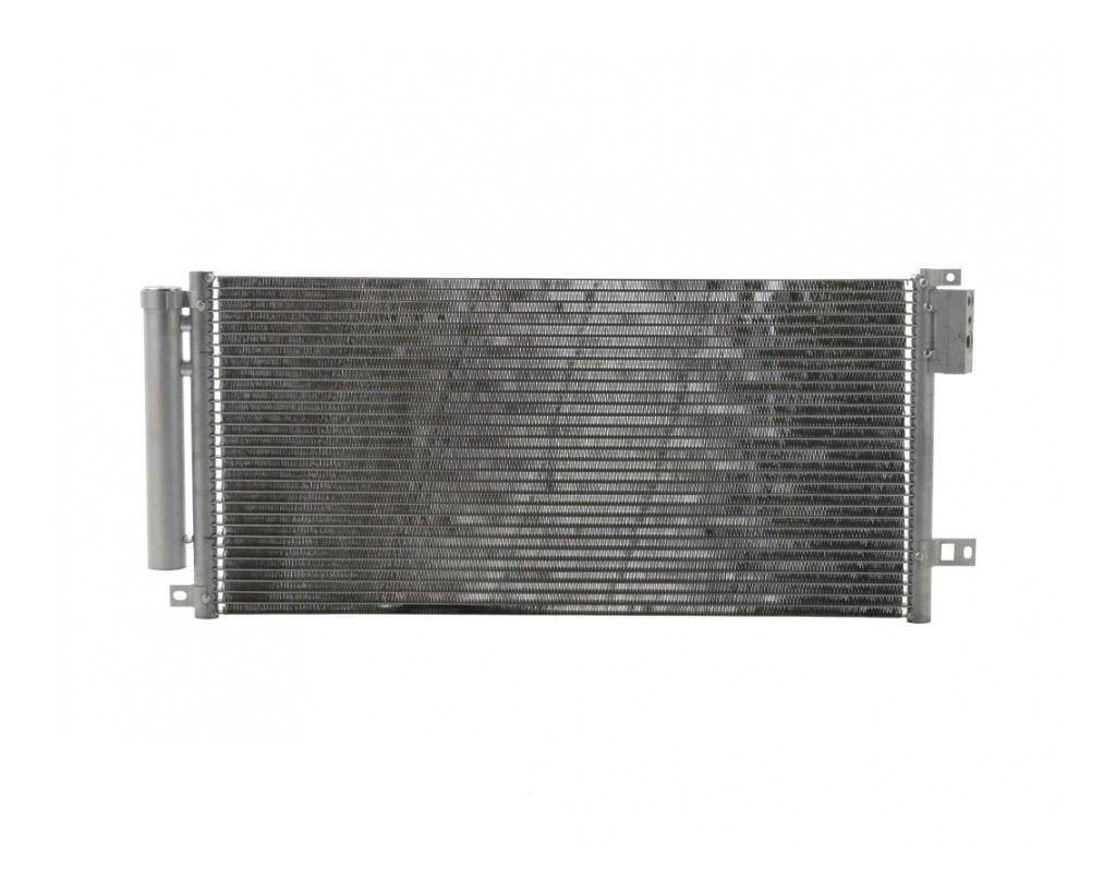 Радиатор кондиционера Fiat Punto 2008- 665*297мм по сотах (с осушителем) KEMP