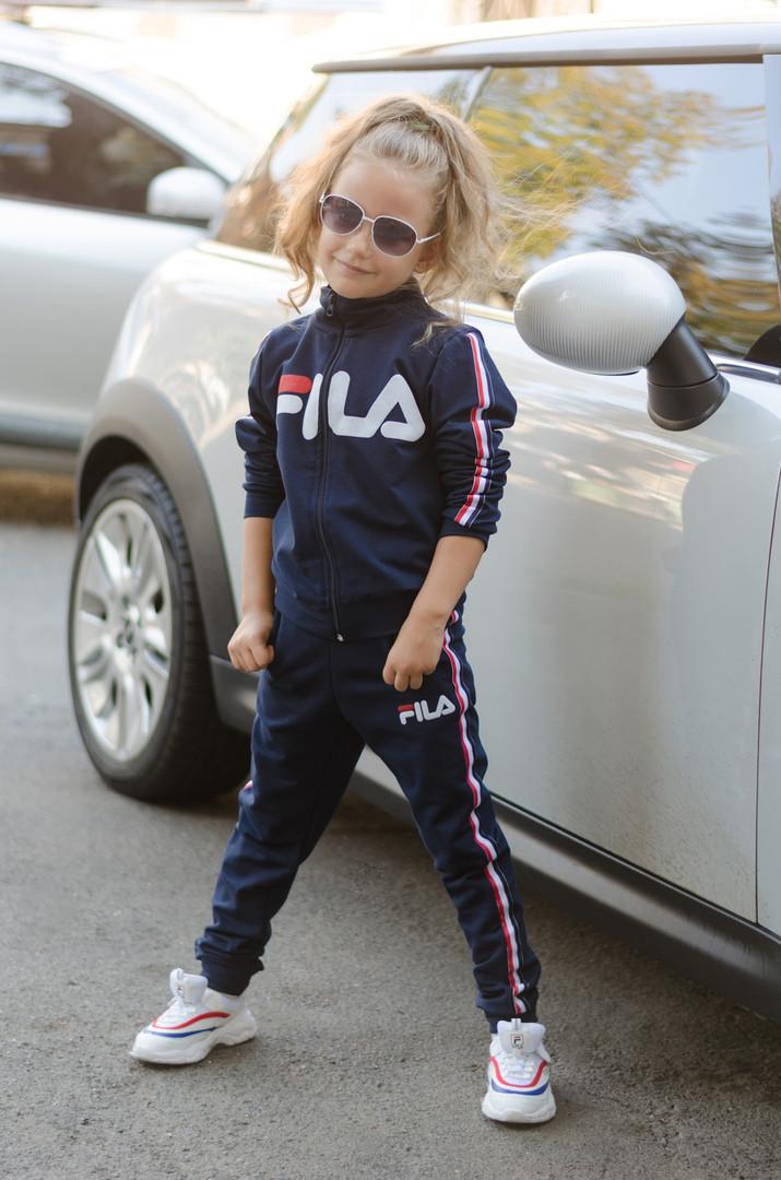 bbe373cf2ec54 Спортивный костюм Fila детский двух нить рост:122-128,128-134,134-140,