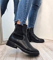 Ботинки челси женские натуральная кожа замш e55715cc8682c