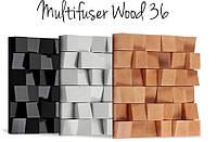 Vicoustic Multifuser Wood 36 звукорассеивающая панель (1шт), фото 1