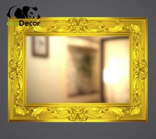 Зеркало настенное Duesseldorf в золотой раме R3