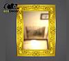 Зеркало настенное Duesseldorf в золотой раме R3, фото 2