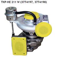 """Турбина (турбокомпрессор) ТКР-HE 211 W  Дв.: Cummins ISF 3.8, ПАЗ-3204, """"Валдай"""", ГАЗ-33106"""