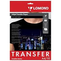 Термотрасфер Lomond для темных тканей, А4, 10 листов (0808421)