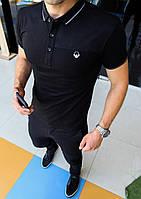 Мужская люксовая футболка 3 модели Шикарное качество материалаРазмеры: S-XXL, фото 1
