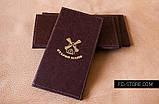 Счетница из кожзама с тиснением логотипа, фото 5