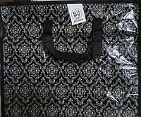 Хозяйственная сумка полипропиленовая горизонтальная №2 (Орнамент), фото 1