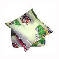 Детский набор:одеяло 105*150+подушка 45*45 холлофайбер ткань полибязь
