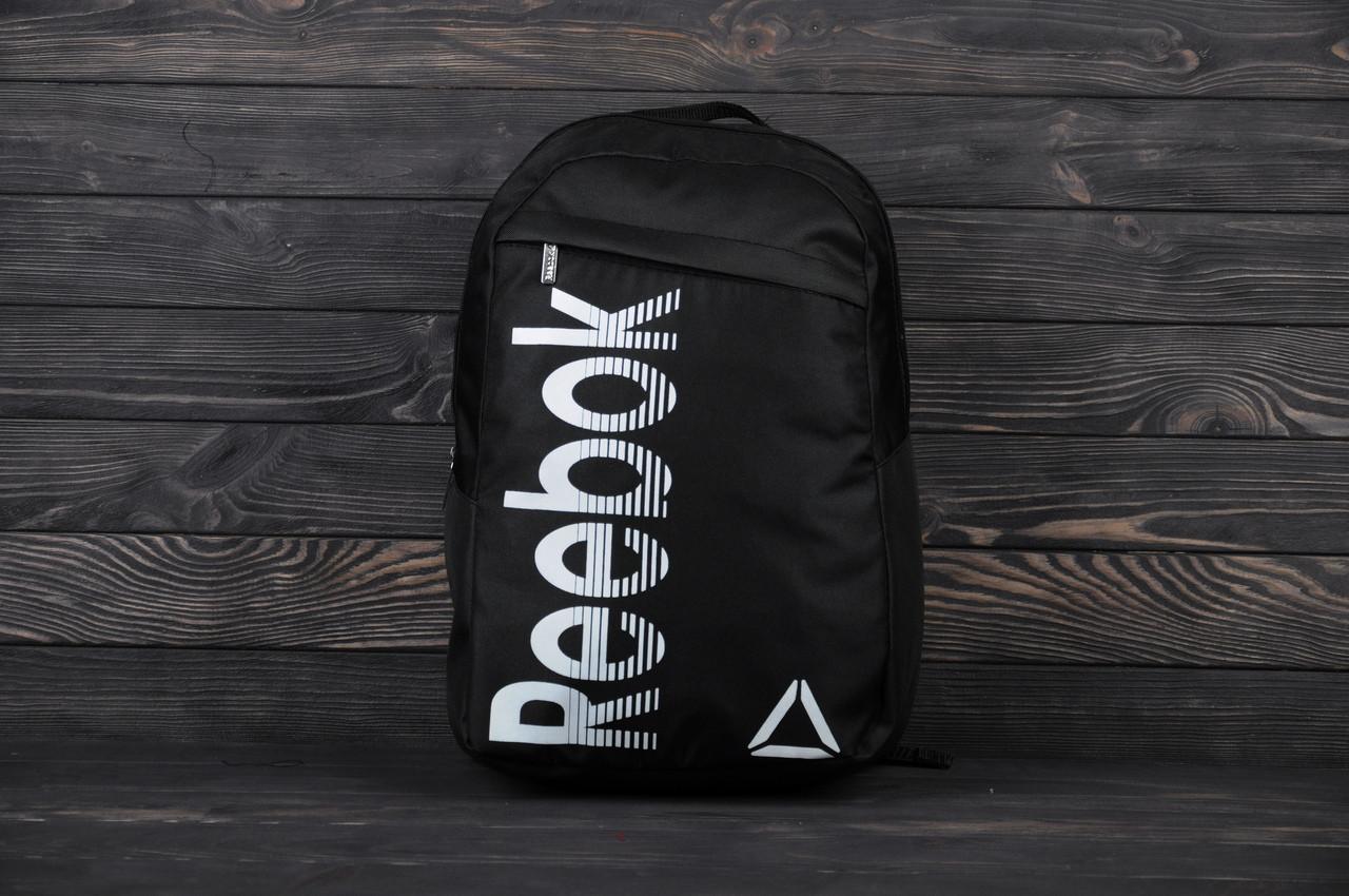 92d0eaf713e8 Рюкзак в стиле Reebok Pioneer Original, цвет - черный, материал -  полиестер. Код