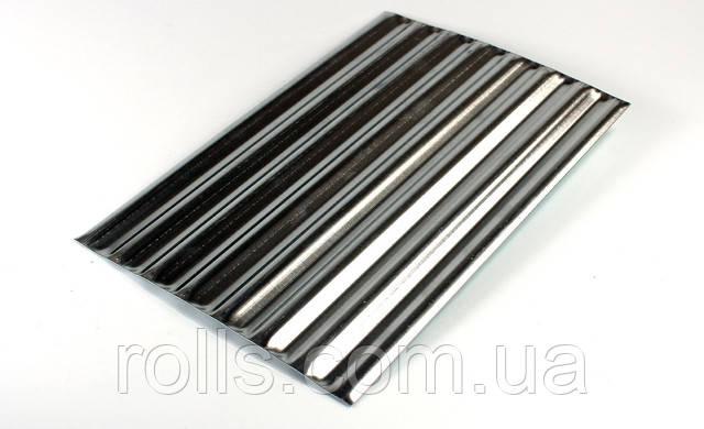 лист алюминиевый рифленый 1мм 1000х3000мм алюминий для тюнинга авто дизайн интерьера алюминием декоративный алюминий филенка алюминиевая PREFA DESIGN 924 купить в Украине лучшая цена на алюминиевые листы
