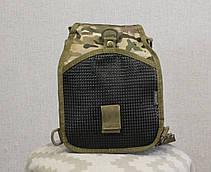 Тактический - штурмовой универсальный рюкзак Silver Knight на 9 литров с системой M.O.L.L.E Multicam (098 mul), фото 3