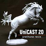 Новинка ассортимента: недорогой белый пластик Уникаст20 продленной полимеризации