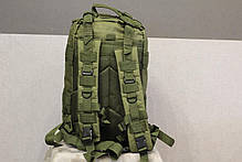 Тактический (городской) рюкзак Oxford 600D с системой M.O.L.L.E Olive (ta25 олива) , фото 2