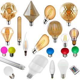 Ламы светодиодные led, энергосберигающие лампы