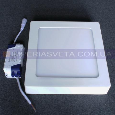 Светильник светодиодный дневного света IMPERIA панель 12W накладной квадрат LUX-551054