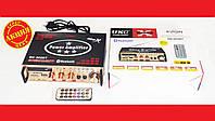 Усилитель звука UKC SN-802BT FM USB Блютуз + Караоке, фото 1