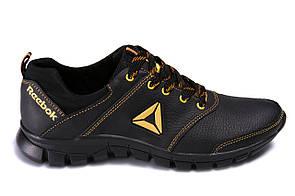 Мужские кожаные кроссовки Reebok Classic New Age yellow