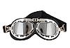 Мото очки хамелеон классические ретро под шлем каску, фото 4