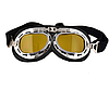 Мото очки хамелеон классические ретро под шлем каску, фото 5