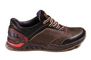 Мужские кожаные кроссовки Merell M brown