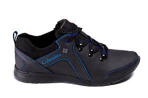 Мужские кожаные кроссовки Columbia Stage 1 blue