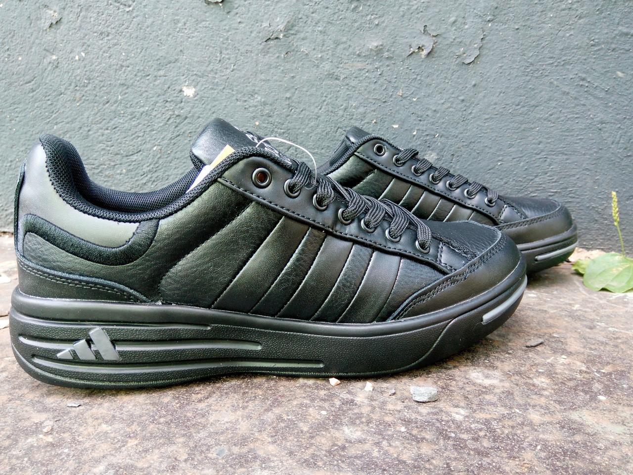 Кроссовки мужские Adidas Ilie Nastase черные.