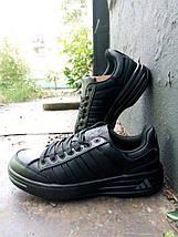 Кроссовки мужские Adidas Ilie Nastase черные., фото 2