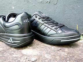 Кроссовки мужские Adidas Ilie Nastase черные., фото 3