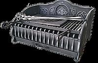 """Чугунный кованый мангал, барбекю, гриль """"Королевский"""" 635 мм"""