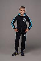 Спортивный костюм для мальчика трикотаж двухнить рост:122-164 см